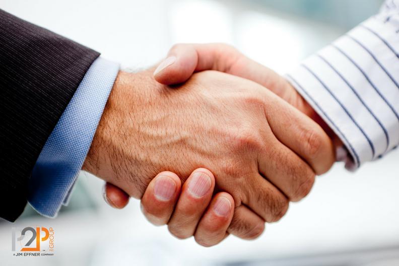 The final handshake